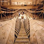 le chantier de reconstruction de l`Hermione