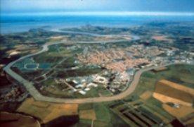 vue aérienne de Rochefort